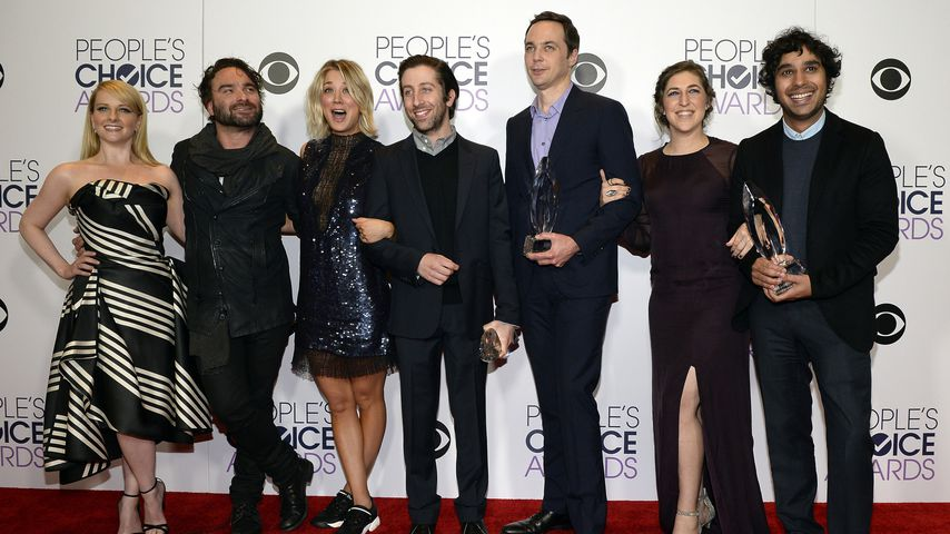 "Der Cast von ""The Big Bang Theory"" in Los Angeles"