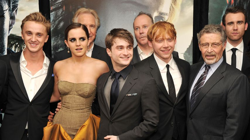 "Der ""Harry Potter""-Cast im Juli 2011 in New York"