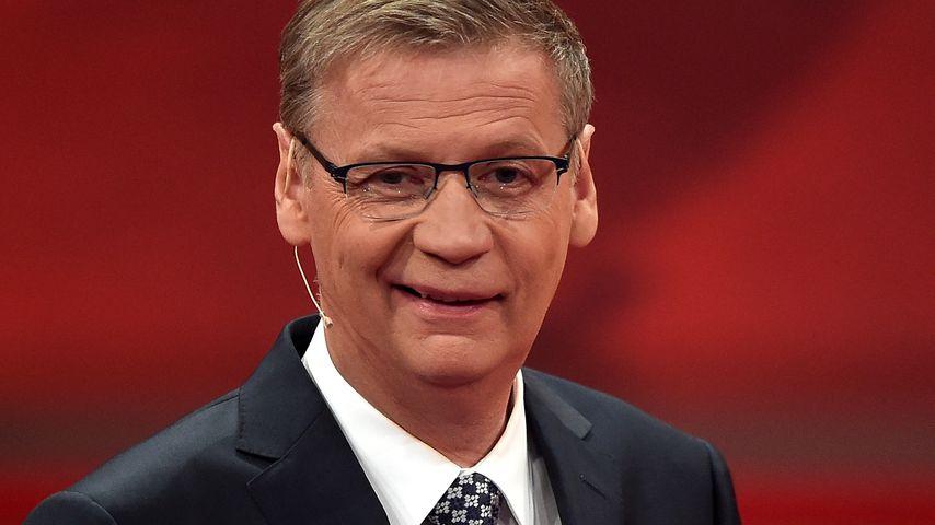 Der Moderator Günther Jauch