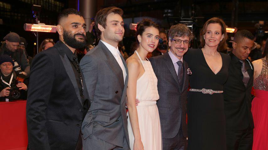 """Der """"My Salinger Year""""-Cast bei der Berlinale 2020"""