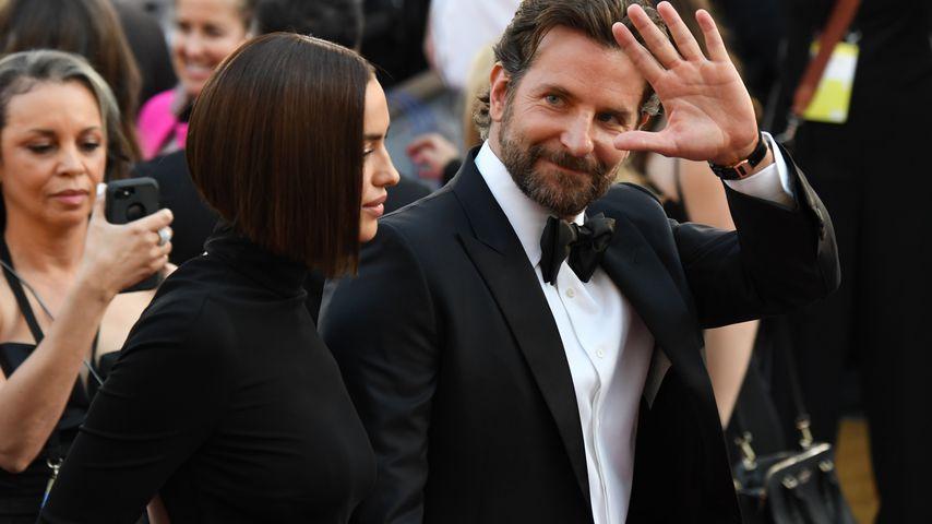 Der Schauspieler Bradley Cooper und das Model Irina Shayk