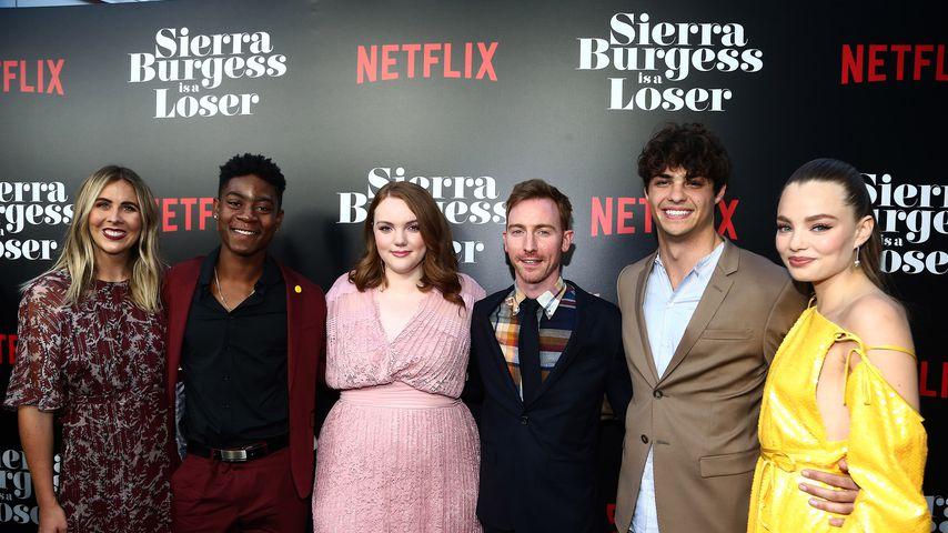 """Der """"Sierra Burgess Is A Loser""""-Cast, August 2018"""