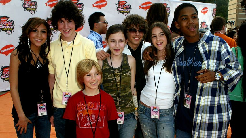 "Der ""Zoey 101""-Cast im April 2005"