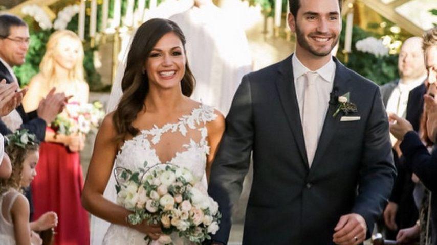 Wow! So schön war die US-Bachelorette als Braut