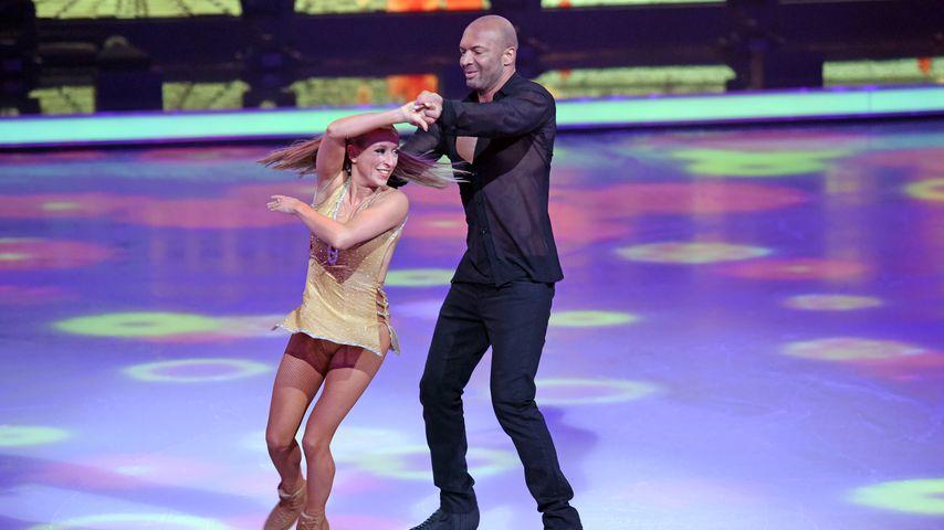 """Detlef D! Soost und sein Partnerin Kat Rybkowski bei """"Dancing on Ice"""""""