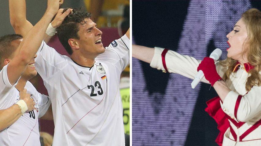 """EM 2012: Madonna im Halbfinale """"gegen"""" Deutschland"""