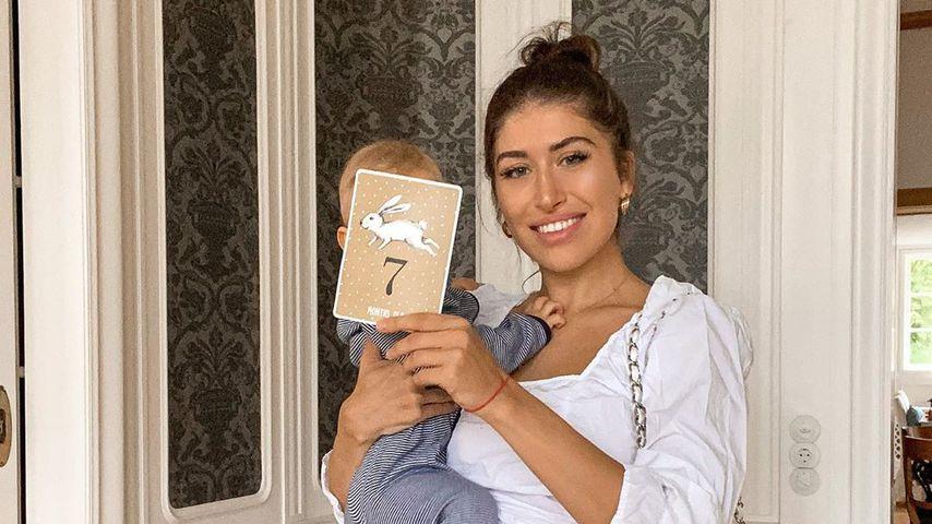 """""""Kleines Milchbrötchen"""": Diana June gibt neues Baby-Update"""