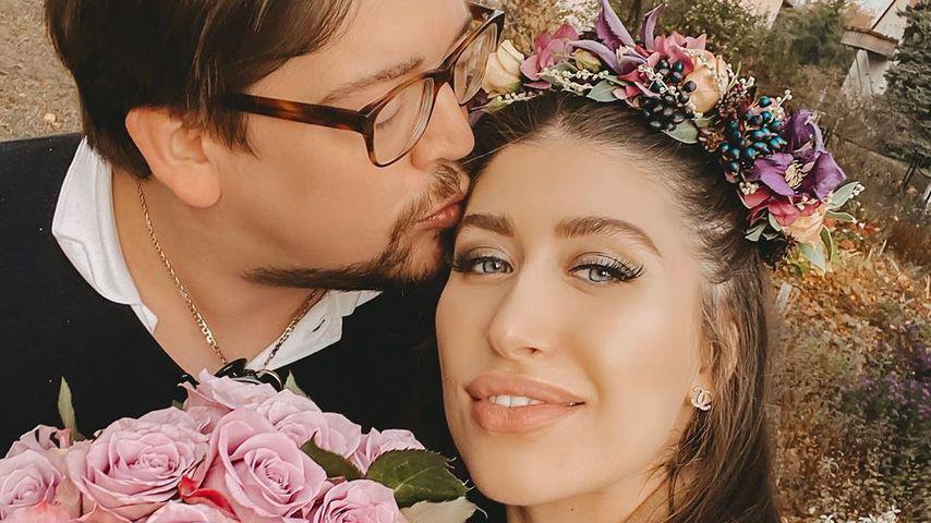 Diana June mit ihrem Partner David