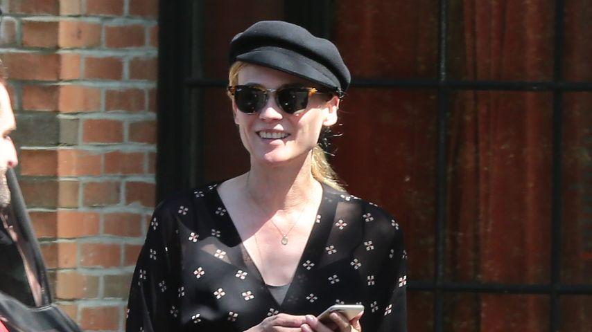 Happy & stylish: Diane Kruger strahlt Trennungsgerüchte weg