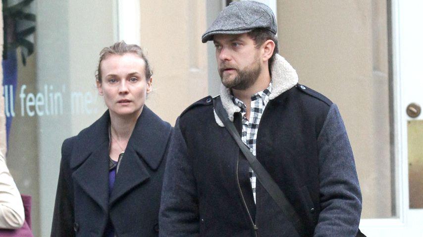 Diane Kruger und Joshua Jackson in New York