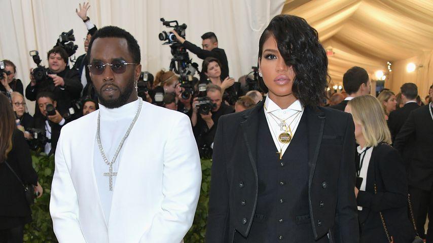 Diddy und Cassie auf einer Gala im Mai 2017