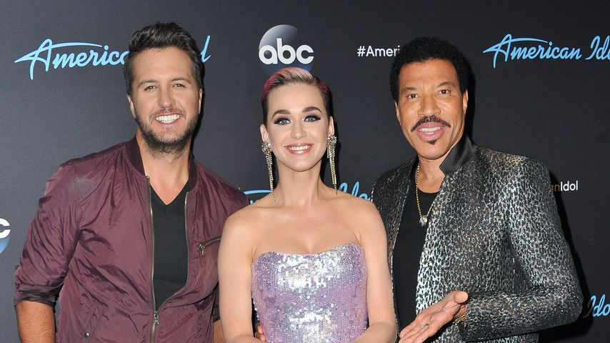 """Luke Bryan, Katy Perry und Lionel Richie bei """"American Idol"""", 2018"""