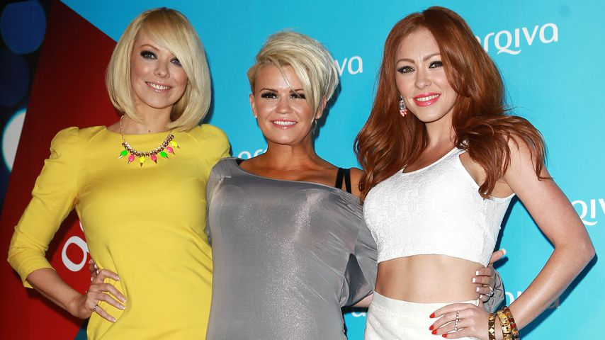 "Die ""Atomic Kitten""-Stars Liz McClarnon, Kerry Katona and Natasha Hamilton, 2013 in London"