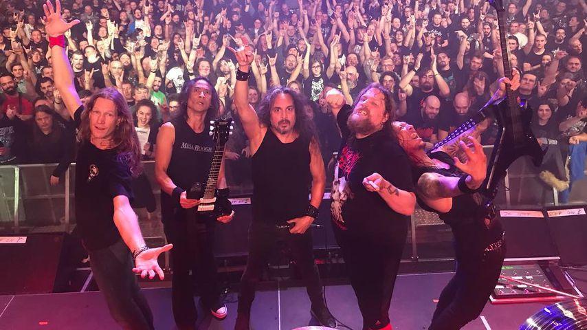 Die Death Angels bei einem Konzert in Saarbrücken