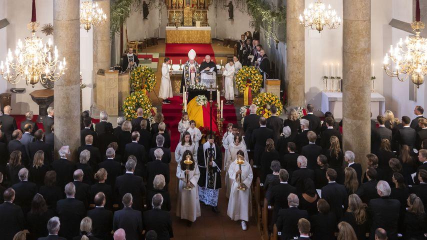 Fürstin Marie von und zu Liechtensteins Beisetzung