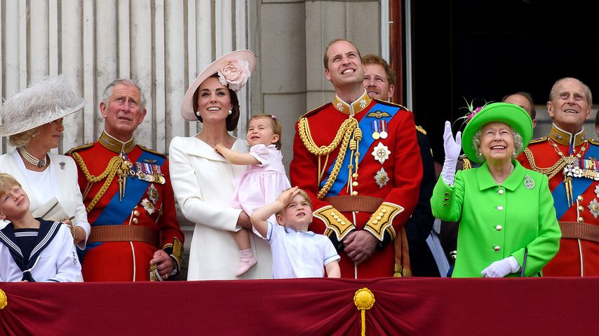 Die britische Royal-Family beim Trooping the Colour