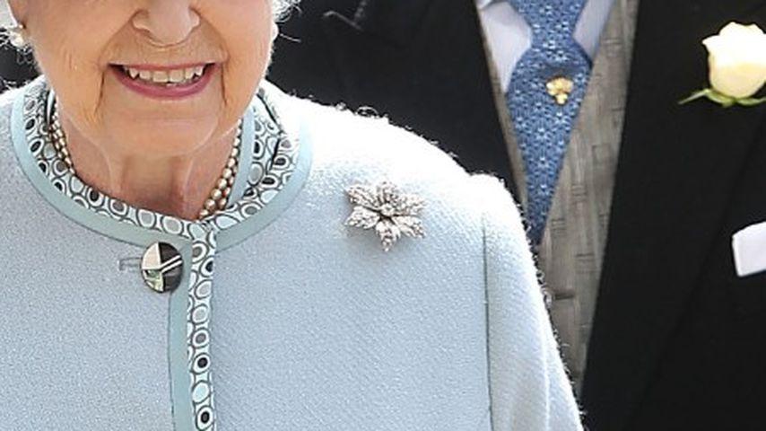 Die Brosche der Queen, die auch einst anlässlich ihrer Verlobung im Jahr 1947 trug