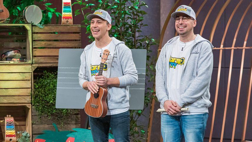 """Rui Manuel und Joao Carlos Duarte, die Class-Plash-Gründer bei """"Die Höhle der Löwen"""""""