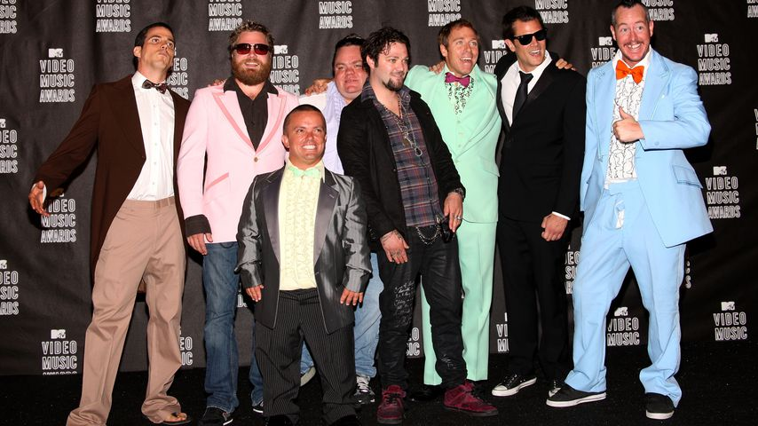 "Die Crew von ""Jackass"" bei den MTV Video Music Awards 2010"