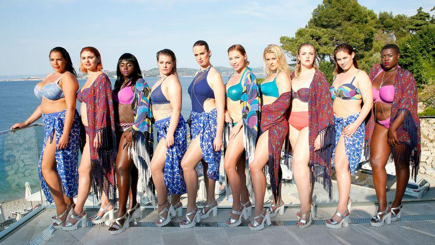 """Die """"Curvy Supermodel""""-Kandidatinnen in Bademode"""