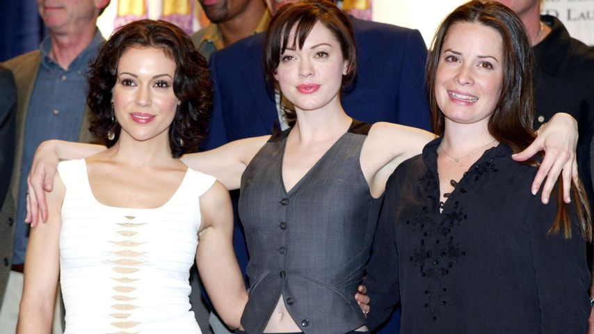 "Alyssa Milano, Rose McGowan und Holly Marie Combs – die ""Charmed""-Schwestern"