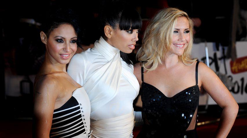 Heidi Range mit ihren ehemaligen Sugababes-Kolleginnen
