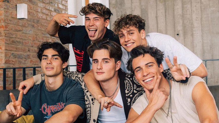 Die Elevator Boys in Berlin im August 2021