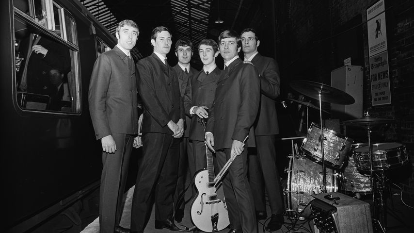 Die englische Rockband The Moody Blues 1964