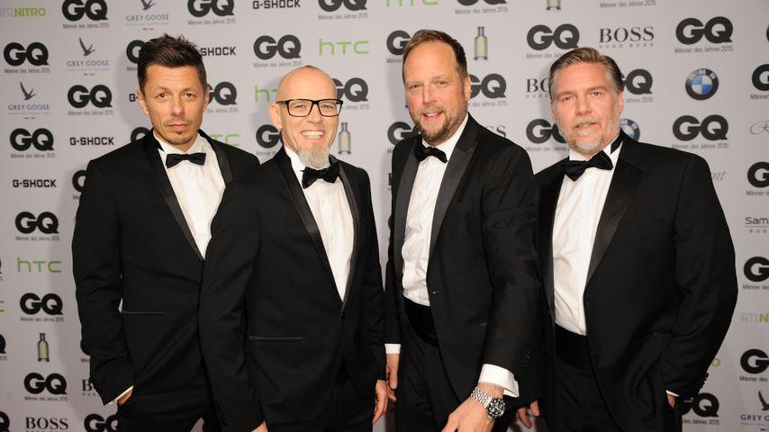 Die Fantastischen Vier beim GQ-Award 2015