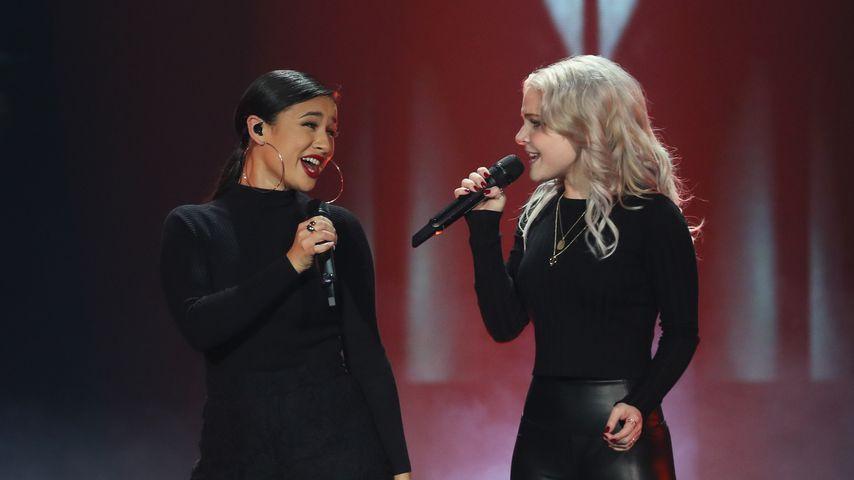 Das Pop-Duo S!sters während des deutschen Vorentscheids zum ESC 2019