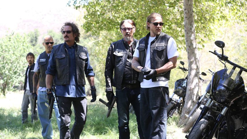 "Kim Coates, Tommy Flanagan und Charlie Hunnam in ""Sons of Anarchy"""