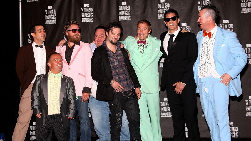 "Die ""Jackass""-Crew bei den MTV Video Music Awards, 2010"