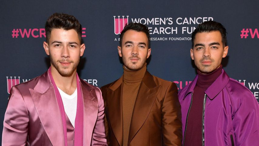 Die Jonas Brothers im Februar 2020 in Beverly Hills