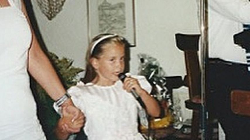 Süße Maus: Das ist wirklich Grace Capristo als kleines Kind!