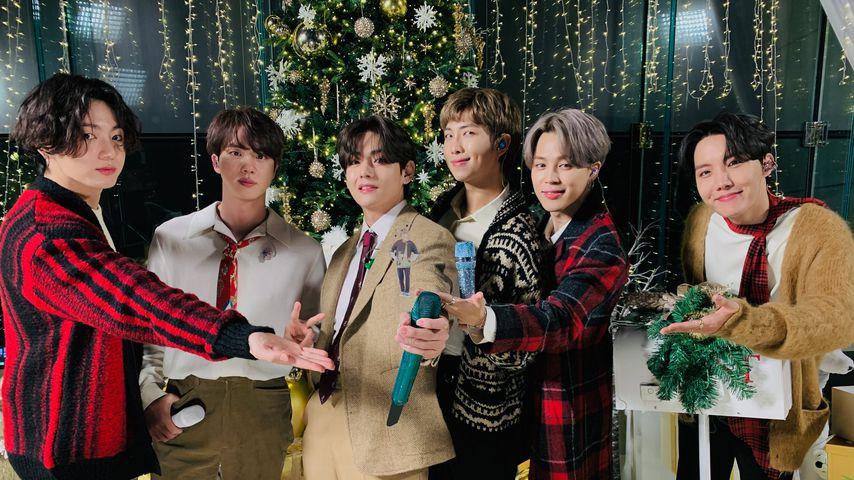 """BTS hinter den Kulissen von """"The Disney Holiday Singalong"""", 2020"""