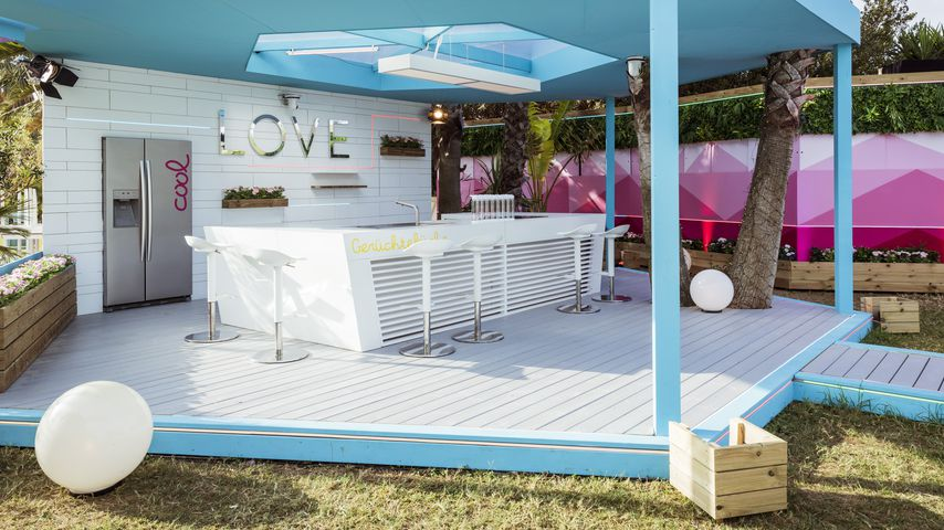 """Die Küche in der """"Love Island""""-Villa 2020"""
