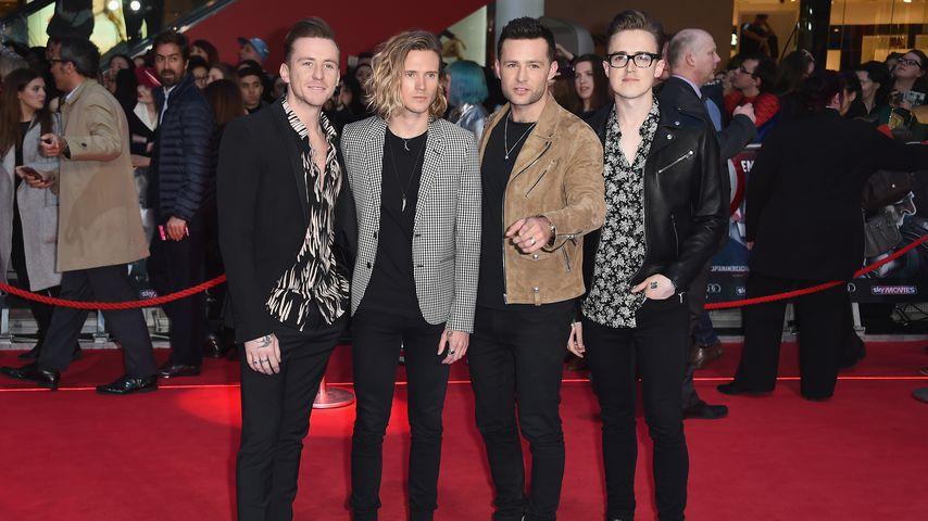 McFly bei einer Film-Premiere im April 2016