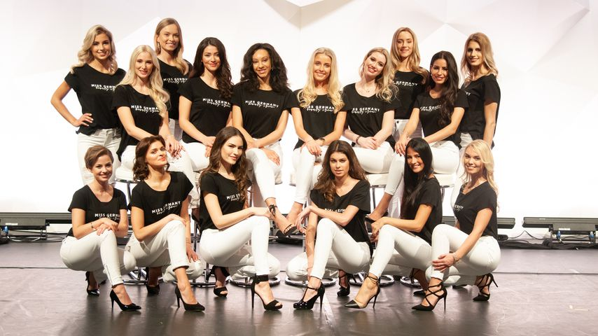 "Die ""Miss Germany""-Kandidatinnen 2019"