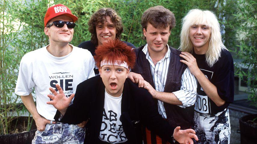 Die Musikgruppe Die Prinzen im Jahr 1992