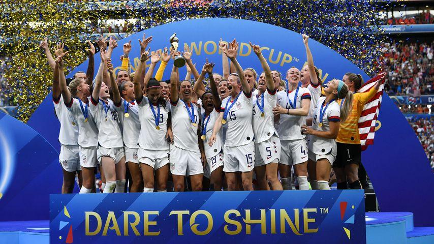 Die US-Fußballnationalmannschaft der Frauen bei der WM 2019 in Frankreich