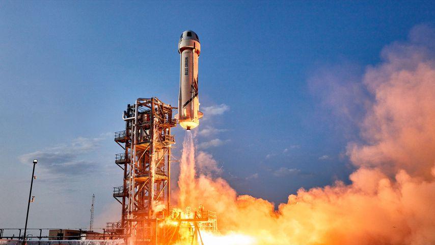 Die New-Shepard-Rakete von Blue Origin