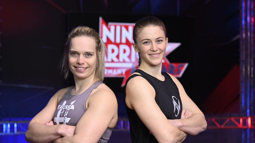 """Die """"Ninja Warrior Germany""""-Kandidatinnen Astrid Sibon und Stefanie Noppinger"""