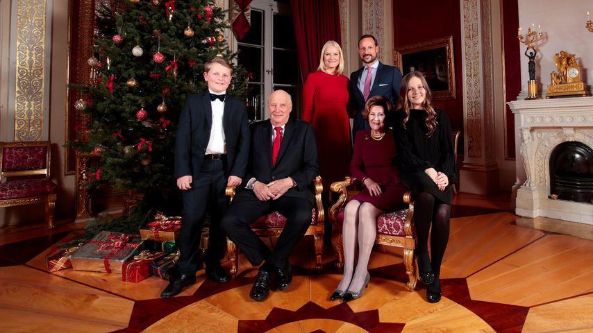 Die norwegische Königsfamilie an Weihnachten 2017