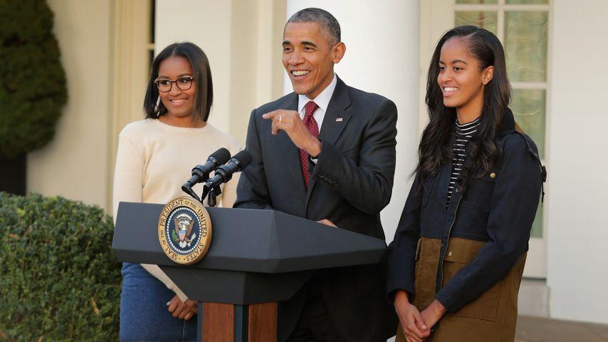 Ungebetener Thanksgiving-Gast: Mann springt über Obamas Zaun