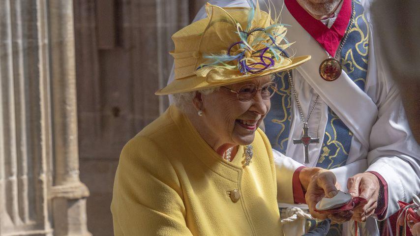 Queen Elizabeth II. im April 2019