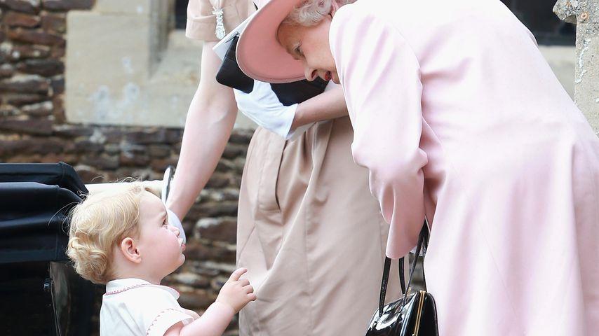 Putzig: Das ist Prinz Georges Spitzname für die Queen