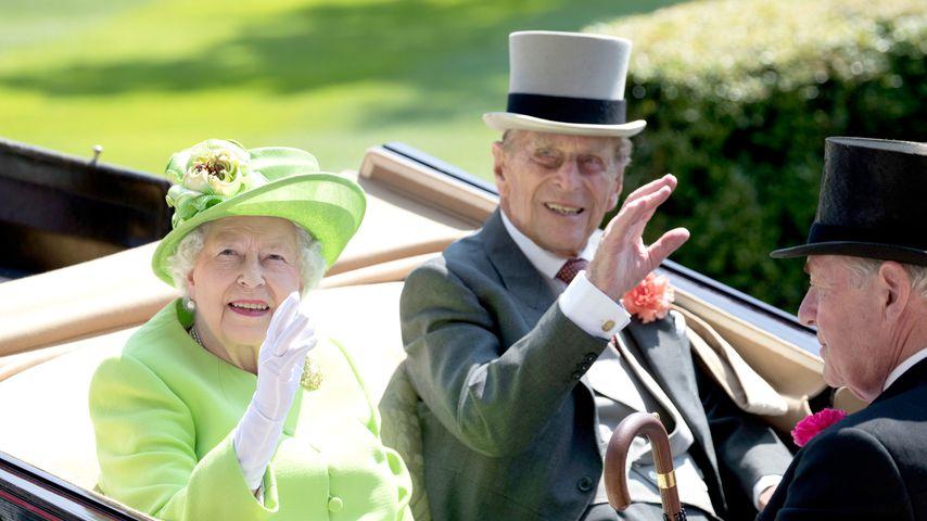 70. Hochzeitstag: So feiern die Queen & Mann Prinz Philip!