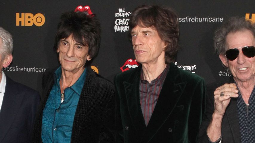 L'Wrens Tod: Rolling Stones stehen Mick Jagger bei
