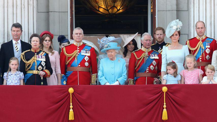Buckingham-Balkon: Darum stand Meghan in der dritten Reihe!