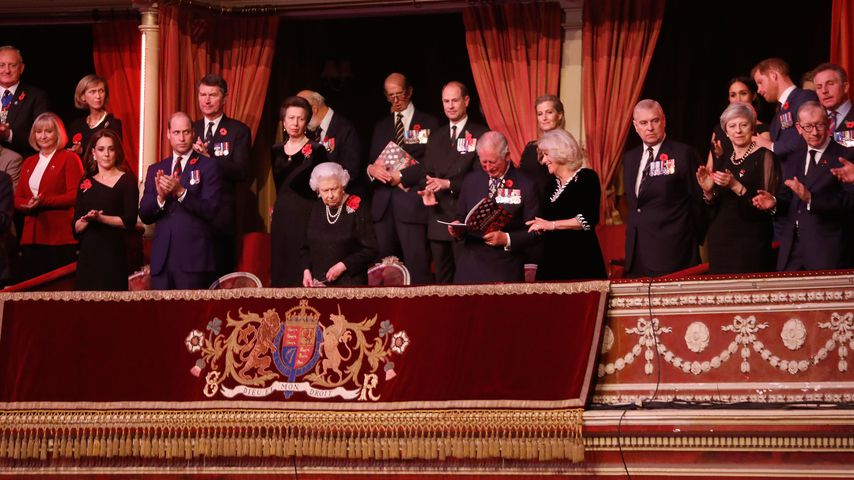 Die royale Familie beim Festival of Remembrance in der Royal Albert Hall 2018